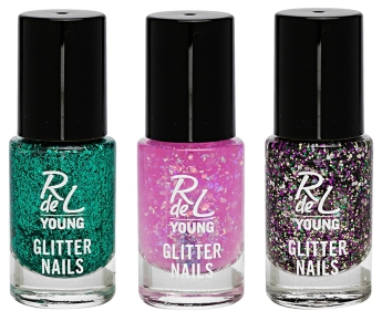 rdly glitter nails